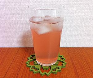 ザクロ酢 作り方 効果 効能 飲み方 ダイエット 飲むタイミング ザクロ酢グラス画像
