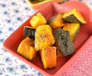 かぼちゃ-硬い皮-簡単に切る方法-ベチャベチャにしない-コツ-かぼちゃの煮物-画像